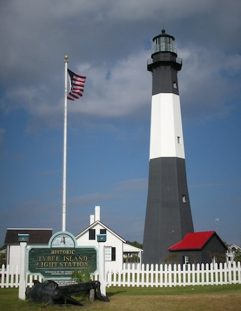 Tybee Island Light Station, Georgia, was transferred to the Tybee Island Historical Society as part of the pilot program in 2002. Photo by Candace Clifford, 2009